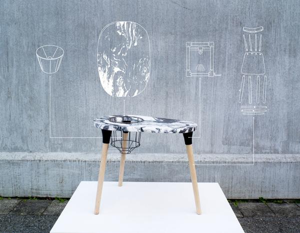 Malmo Upcycling Service - Knitting Table