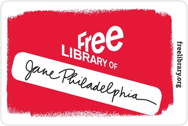 Free Library of Philadelphia card