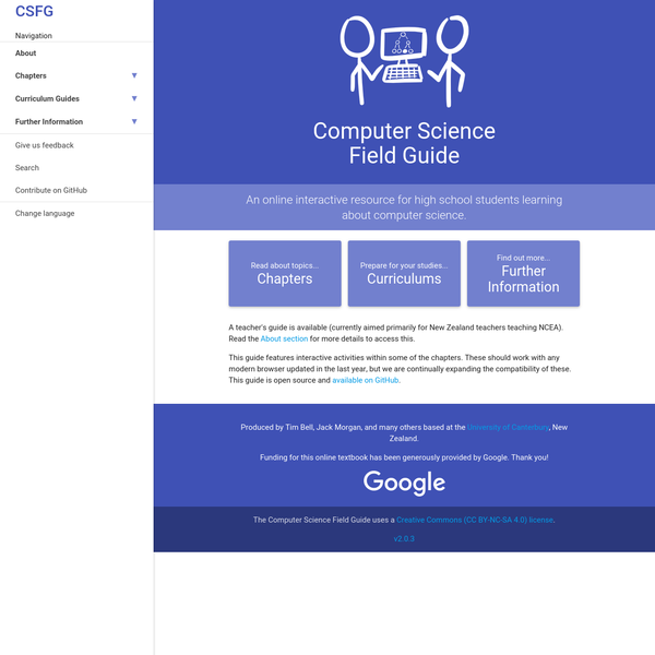 Computer Science Field Guide - Computer Science Field Guide