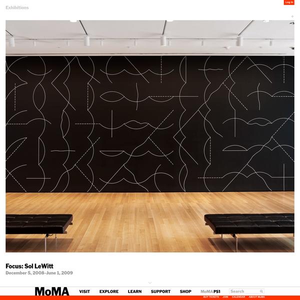 Focus: Sol LeWitt | MoMA