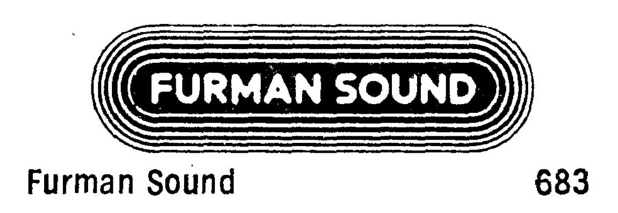Furman Sound