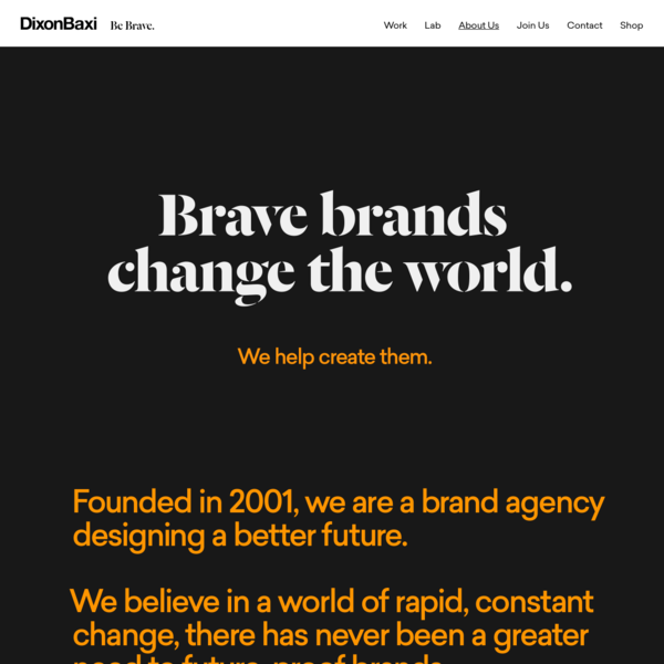 About Us   DixonBaxi