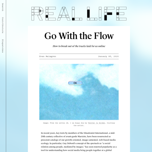 Go With the Flow — Real Life