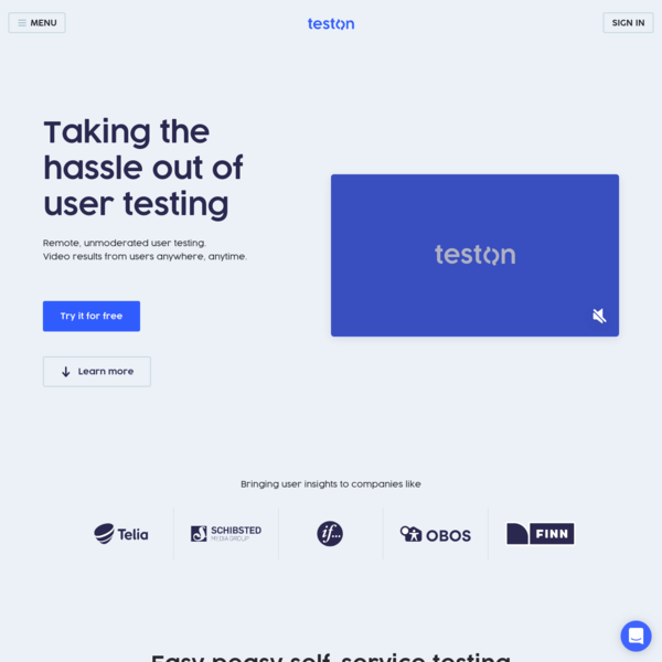 Taking the hassle out of digital user testing