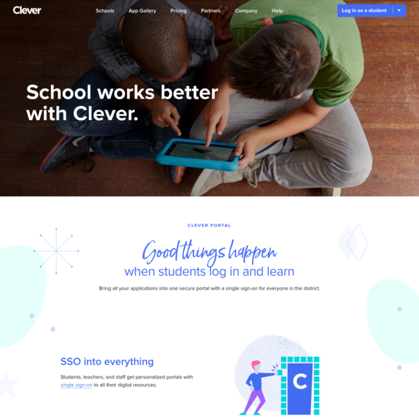 Single sign-on for education | Clever