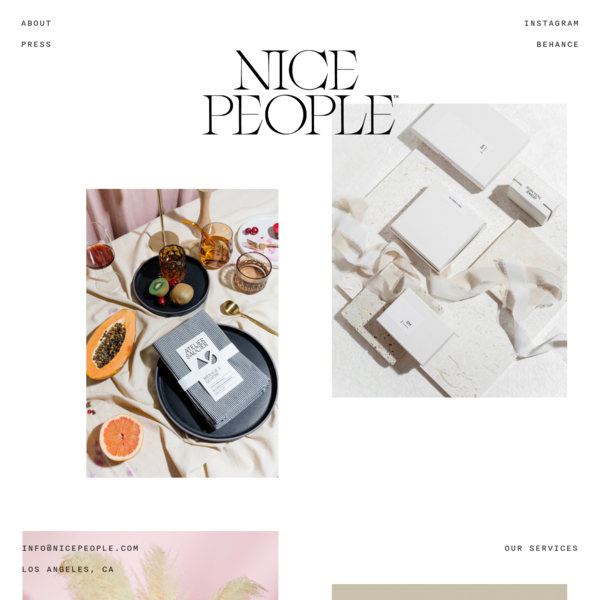 Nice People | Nice People is a Creative Agency in Los Angeles