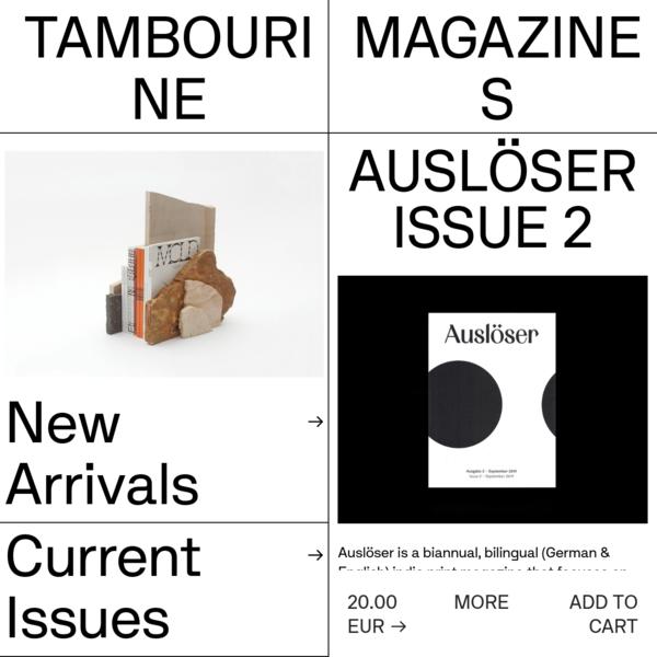 Auslöser - No.2 - Tambourine
