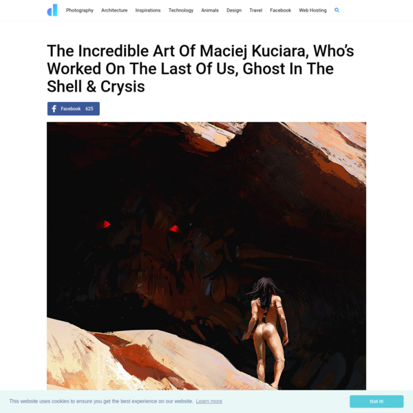 The Incredible Art Of Maciej Kuciara, Who's Worked On The Last Of Us, Ghost In The Shell & Crysis