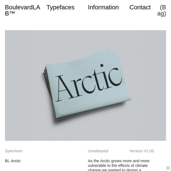 BL Arctic - Boulevard LAB