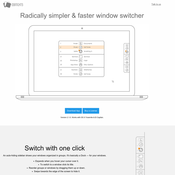 Contexts - A radically simpler, faster and powerful window switcher.