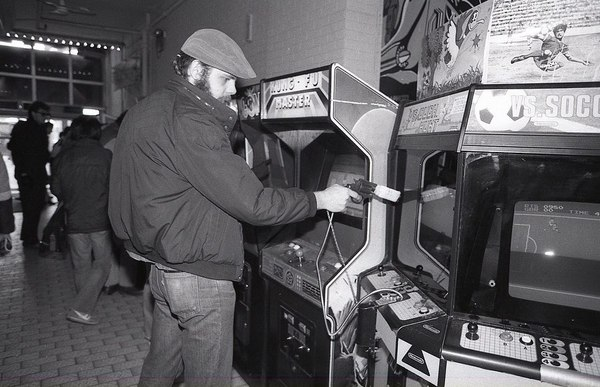 "3:30 p.m. Funland Arcade Open 9 a.m. to 1 a.m. 7 days a week with over 250 video games. Bob White, 37, of Orillia, rides ""Ha..."
