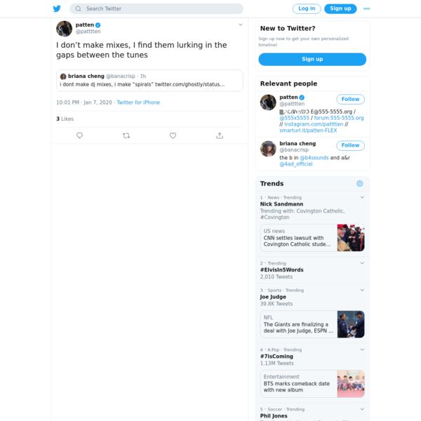 patten on Twitter