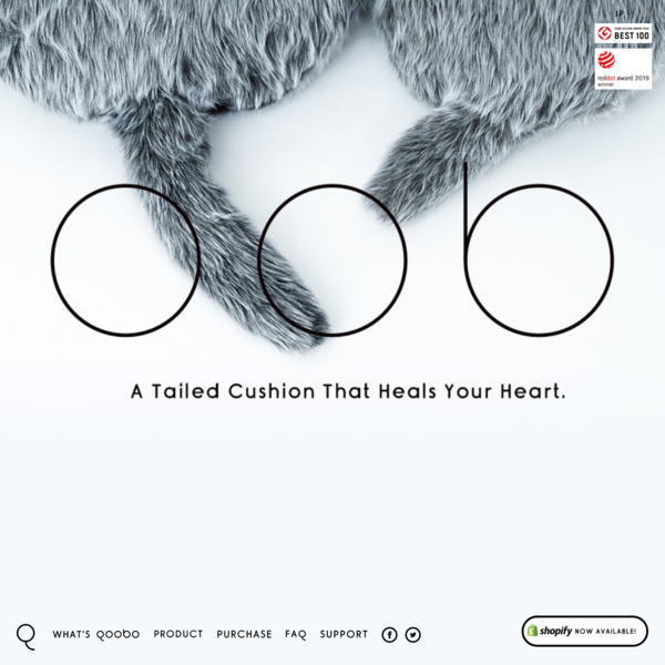 Qoobo | A Tailed Cushion That Heals Your Heart