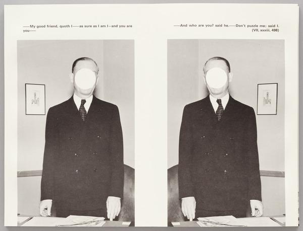John Baldessari, The Life and Opinions of Tristram Shandy, Gentleman, 1988