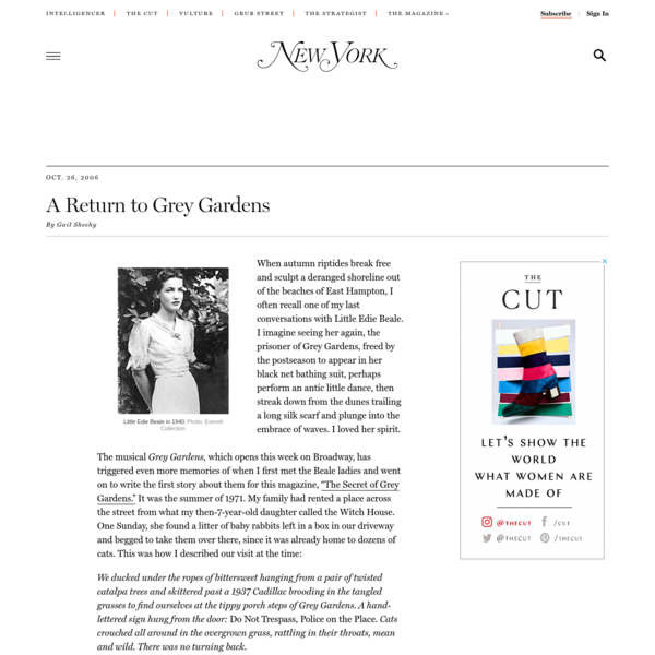 'Grey Gardens' and the Remaining Secrets of Little Edie Beale -- New York Magazine - Nymag