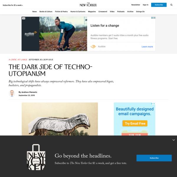 The Dark Side of Techno-Utopianism