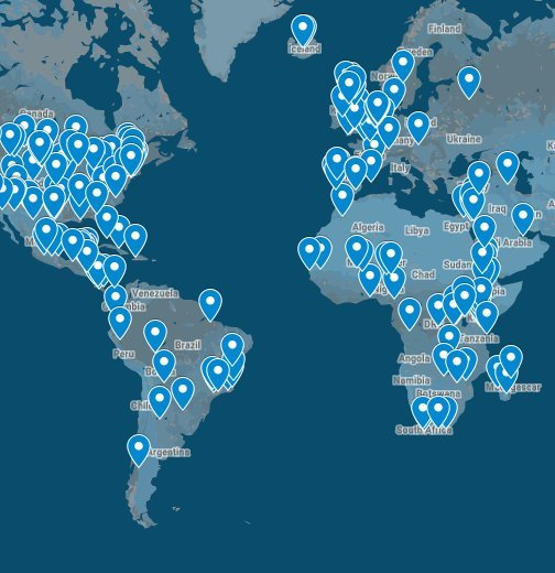 Regenerative Projects Around the World - Google My Maps