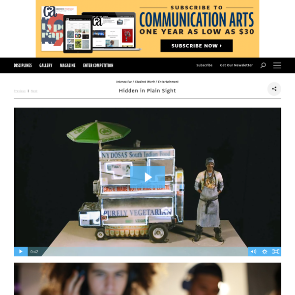 Hidden in Plain Sight | Communication Arts