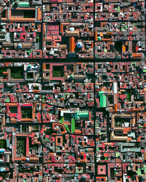"""""""Naples is the third largest city in Italy with roughly one million residents. The metropolis is one of the oldest continuously inhabited areas in Europe, with Bronze Age settlements established here in the second millennium BC. The historic city center, with its tightly gridded streets and numerous cathedrals, is captured in this Overview."""""""
