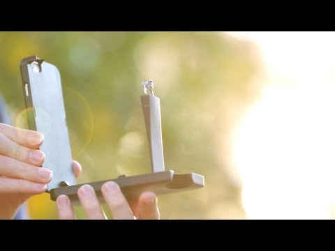 World's First Engagement Ring Phone Case - YouTube