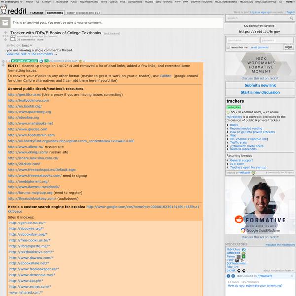 Reddit torrenting ebooks | Top 70 E  2019-04-05