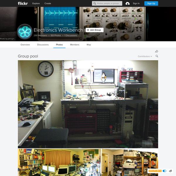 Electronics Workbench | Flickr - Photo Sharing!
