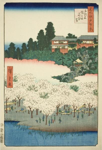 Flower Pavilion, Dangozaka, Sendagi