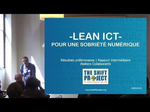 Lean ICT : Pour Une Sobriété Numérique - Présentation du rapport intermédiaire