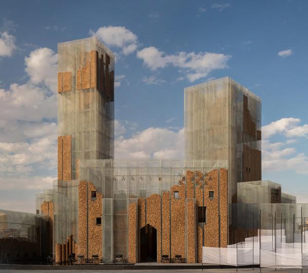 Gharfa Pavilion in Riyadh - Edoardo Tresoldi