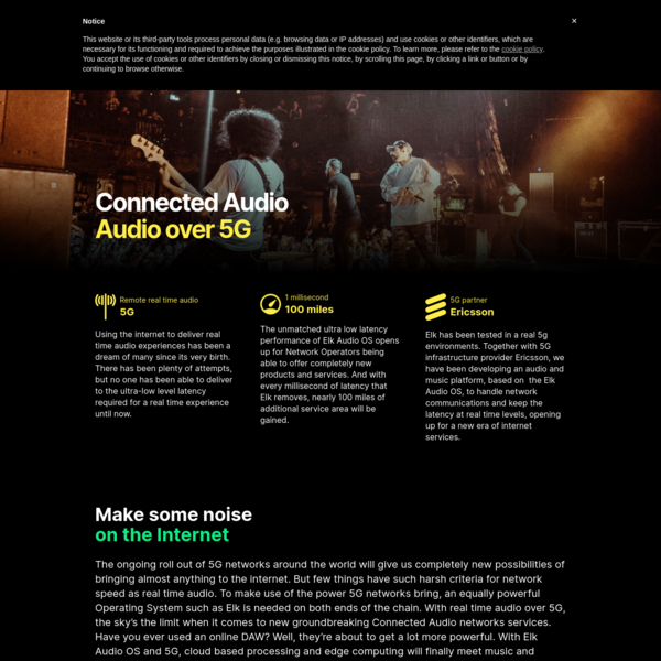 5G - Elk Audio OS