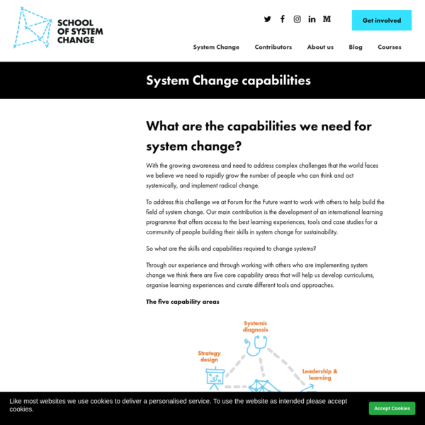 System Change capabilities