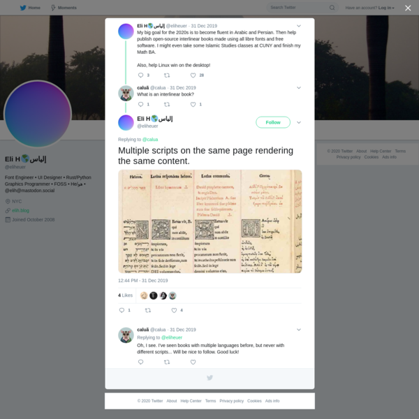 Eli H🌎إلياس on Twitter