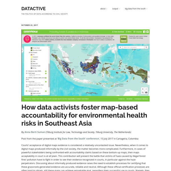 How data activists foster map-based accountability for environmental health risks in Southeast Asia