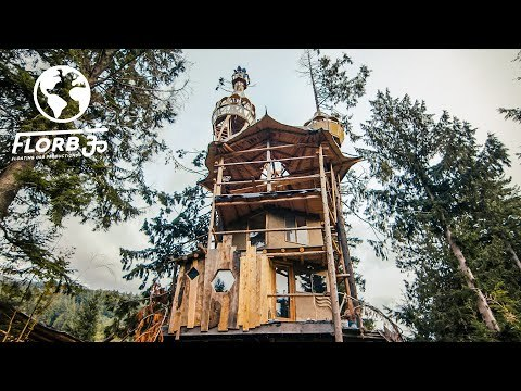 3 Floor Treehouse FULL TOUR with Observation Deck