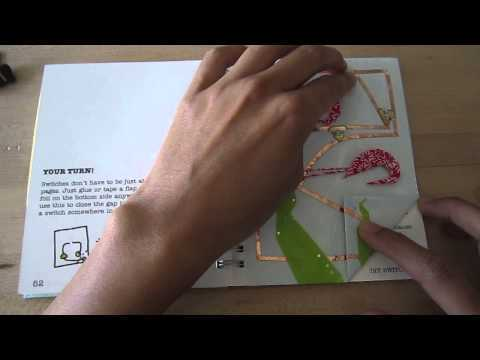 Sketchbook Sample: Circuits + origami