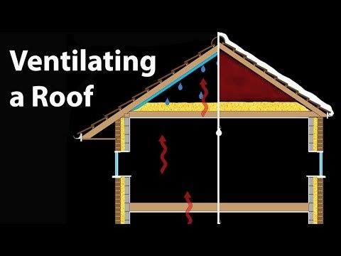 Roof Vents & Loft Ventilation Techniques - Why Vent an Attic