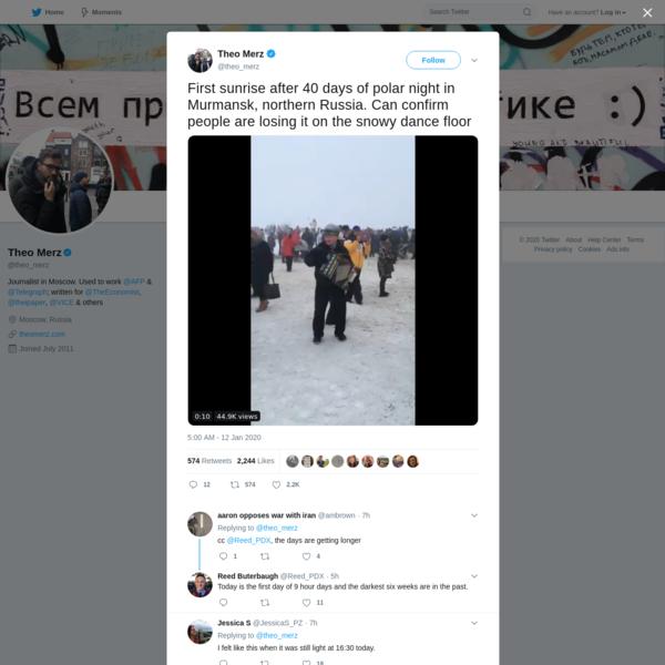 Theo Merz on Twitter