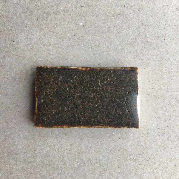 Basalt glaze test