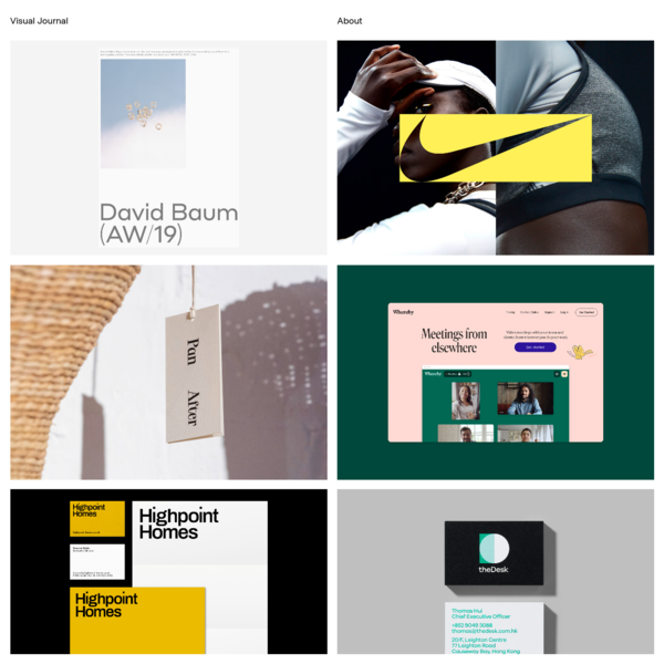Visual Journal - Branding, Editorial and Graphic Design