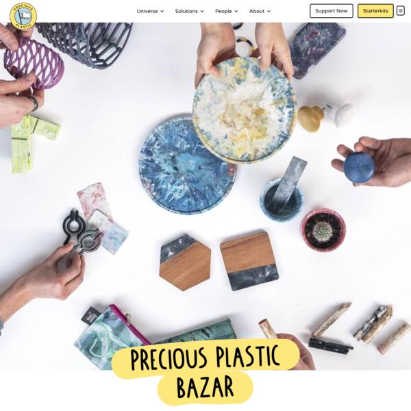 Precious Plastic Marketplace