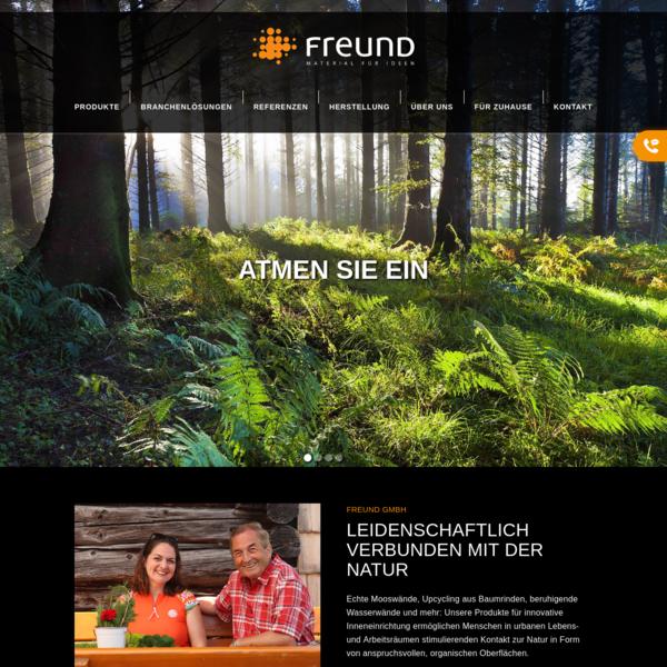 Freund GmbH - Startseite