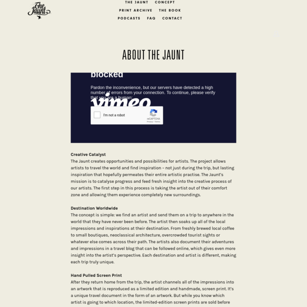 CONCEPT — THE JAUNT
