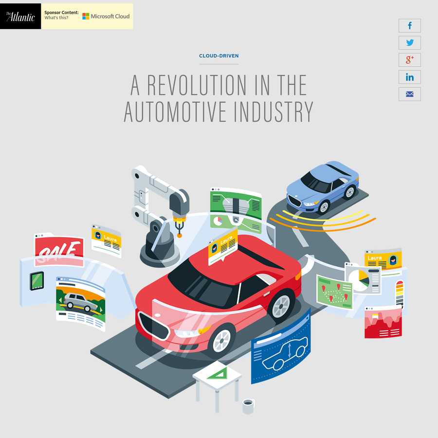 The cloud has revolutionized everything from design, manufacturing, and supply-chain to dealerships, customer experience, and the future of connected cars.