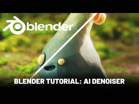 Blender 3D Tutorial: Render Cycles FAST with AI Denoiser