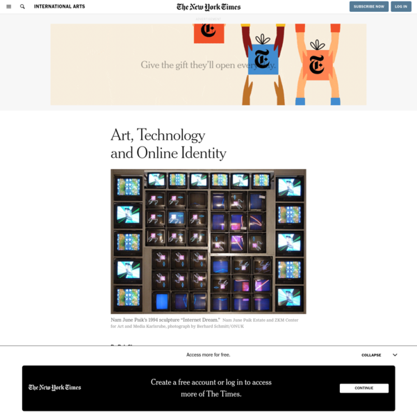 Art, Technology and Online Identity