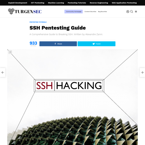 SSH Pentesting Guide