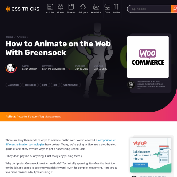 How to Animate on the Web With Greensock | CSS-Tricks