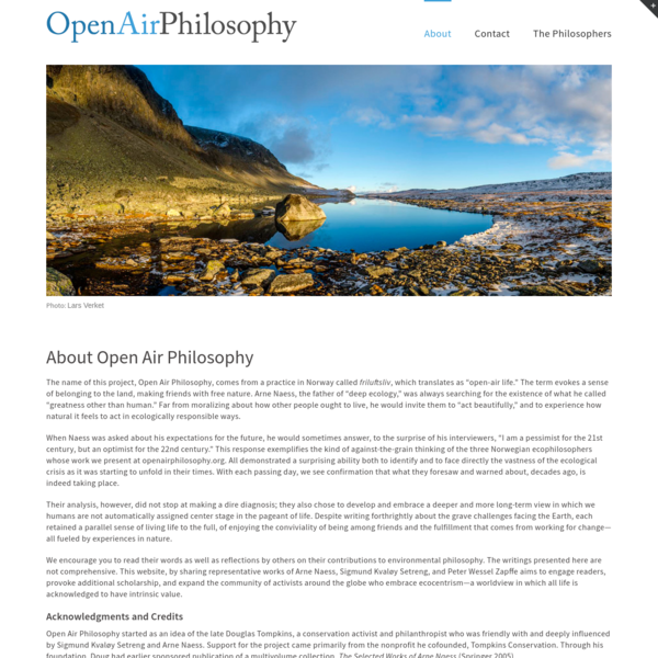 About Open Air Philosophy