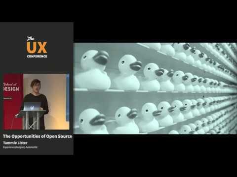 The UX Conference   Feb 2019   The Opportunities of Open Source   Tammie Lister