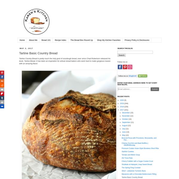 Tartine Basic Country Bread